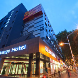 桔子水晶酒店酒店前台工作环境