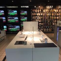 北京家乐福苹果专柜促销员工作环境