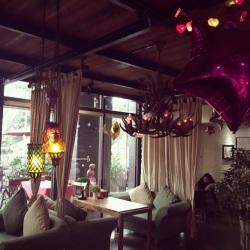 江津区慢生活咖啡馆工作环境
