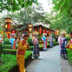北京白家大院饮食文工作环境