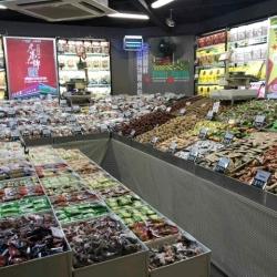 果多美水果干果超市促销员工作环境
