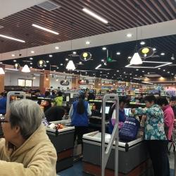 甘其食超市收银员工作环境