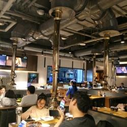 金妈家韩式烤肉工作环境