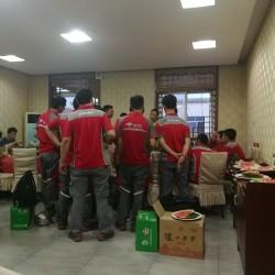北京左家庄营业部快递员工作环境